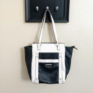 Black and White Nicole Miller purse
